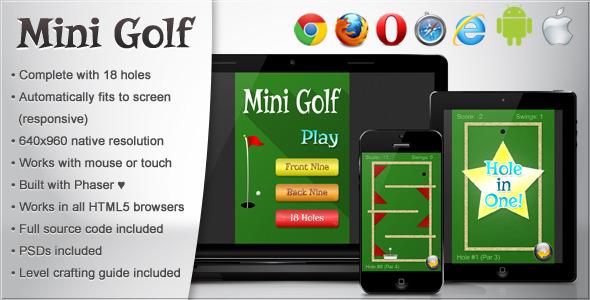 Mini Golf - Html5 Game Script
