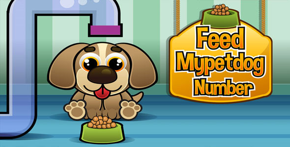 Feed Mypetdog Number Educational Html5 Game - Html5 Game Script