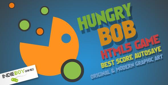 Hungry Bob - Html5 Game Script