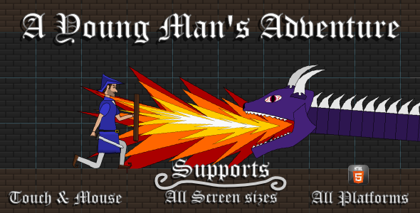 A Young Man'S Adventure Html5 Game - Html5 Game Script