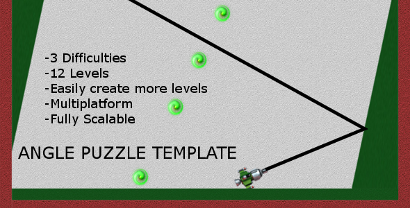 Angle Puzzle Template - Html5 Game Script