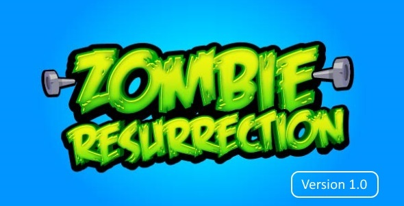 Zombie Resurrection Endless Fighting - Html5 Game Script