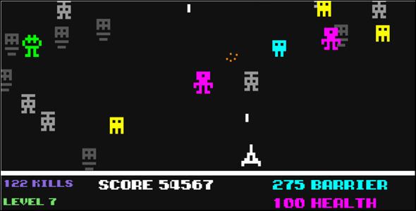 Alien Invaders - Html5 Game Script