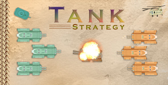 Tank Strategy Html5 Game - Html5 Game Script