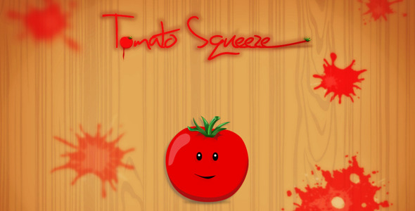 Tomato Squeeze Touch Game - Html5 Game Script