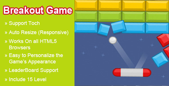 Breakout Html5 Game - Html5 Game Script