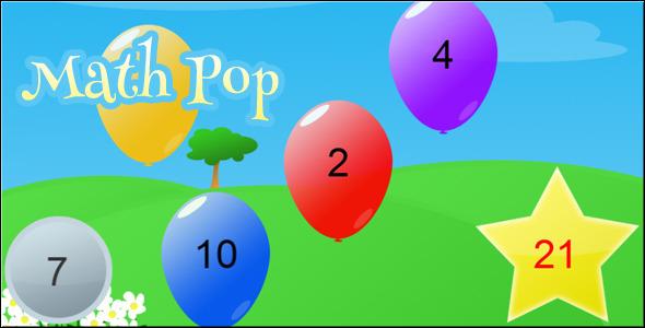 Math Pop - Html5 Game Script