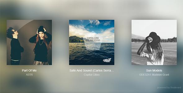 Clarity Music Player - Javascript Media Plugin