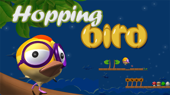 Hopping Bird Game With Admob - Android Game Script
