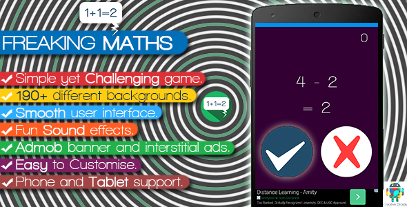 Freaking Math - Android Game Script