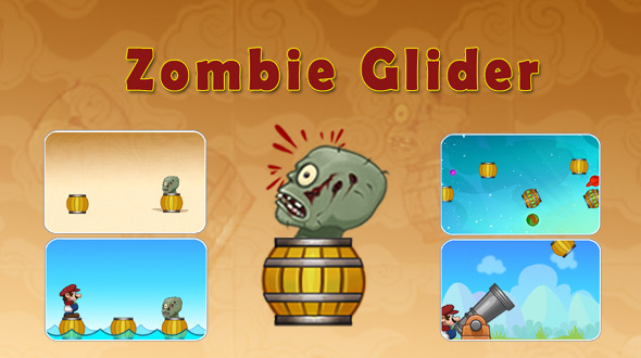 Zombie Glider Game With Admob - Android Game Script