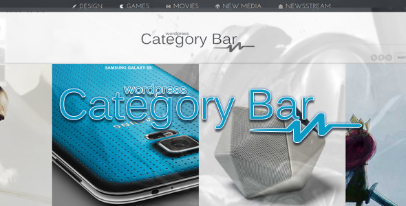Category Bar For WordPress - WordPress Menus Plugin