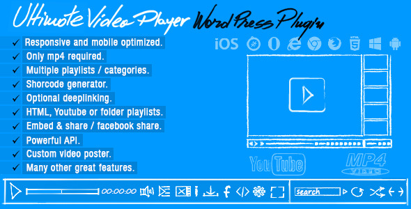 Ultimate Video Player WordPress Plugin - WordPress Media Plugin