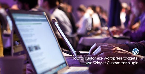 Widget Customizer For WordPress - WordPress Widgets Plugin