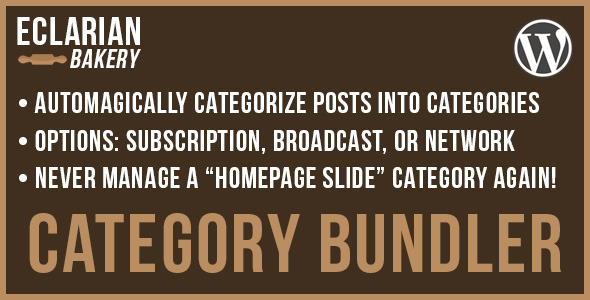 Category Bundler - WordPress Utilities Plugin