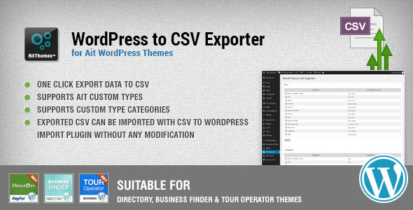 Wordpress To Csv Export Plugin - WordPress Utilities Plugin
