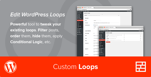 Fresh Custom Loops WordPress Plugin - WordPress Utilities Plugin