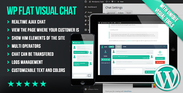 Wp Flat Visual Chat - WordPress Utilities Plugin