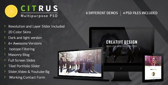 Citrus html business template