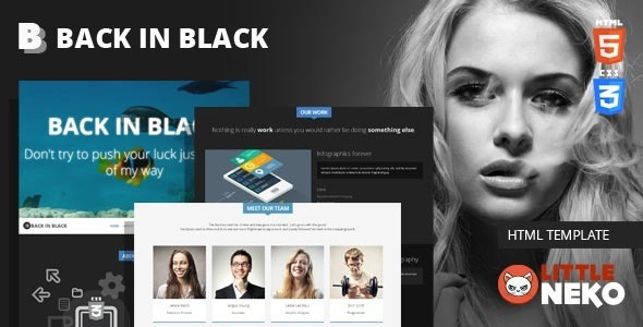 Back html business template