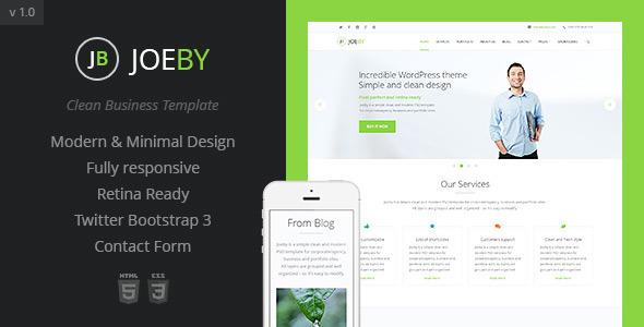 Joeby html business template
