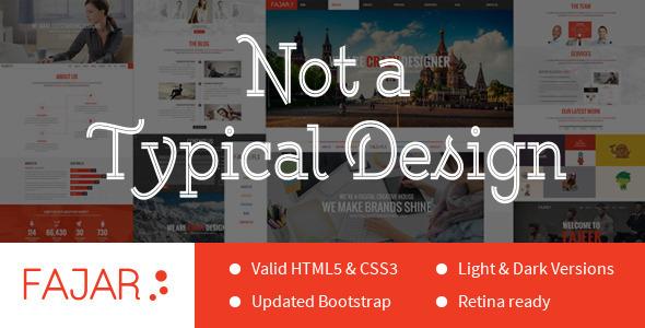 Fajar html business template