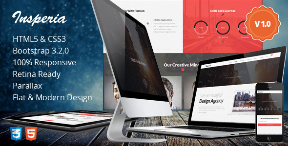 Insperia html business template
