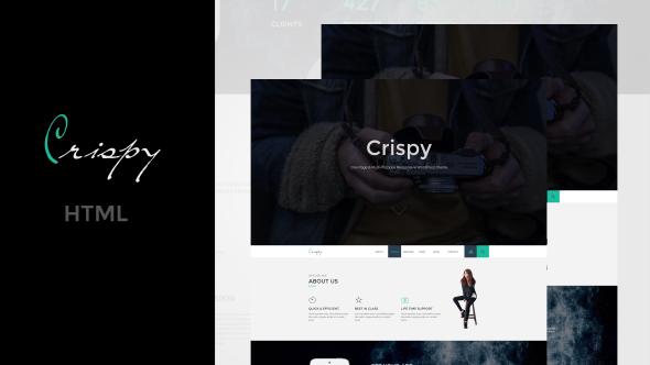Crispy html business template