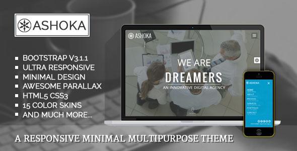 Ashoka html business template