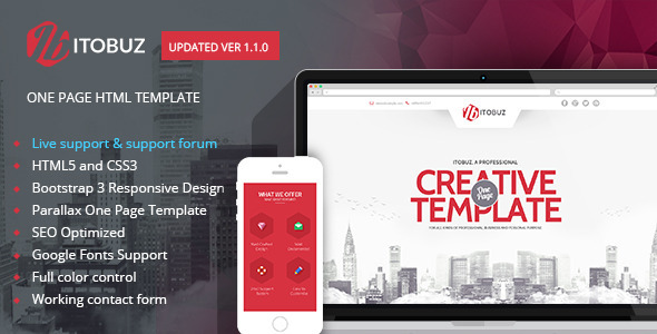 Itobuz html business template