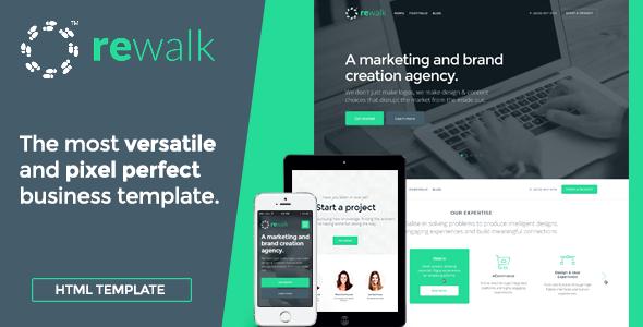 Rewalk html business template
