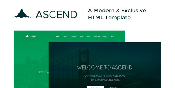 Ascend html business template