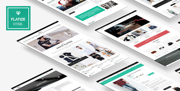 Flatize html retail fashion template