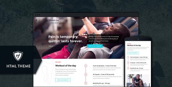 In shape html retail health & beauty template