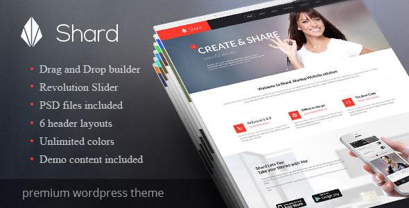 Shard wordpress business theme
