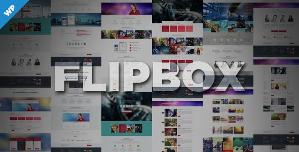 Flipbox wordpress business theme