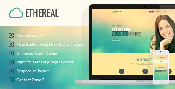 Ethereal wordpress business theme