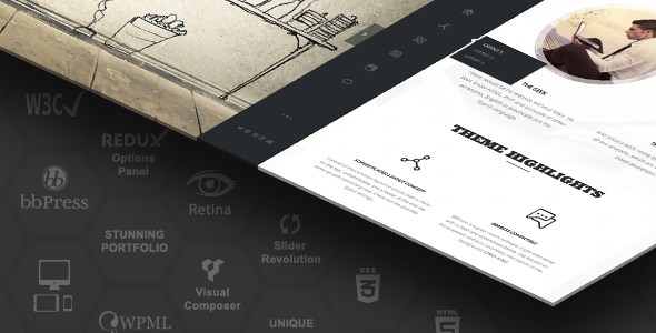 Rebloom wordpress business theme