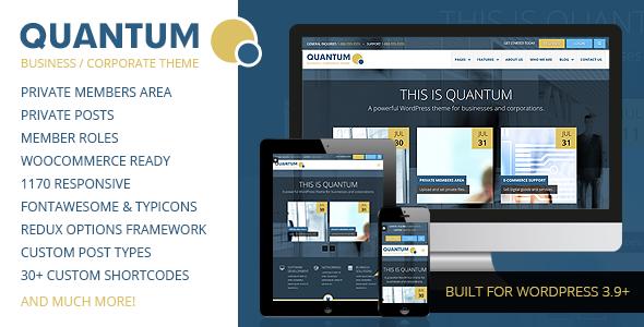 Quantum wordpress business theme