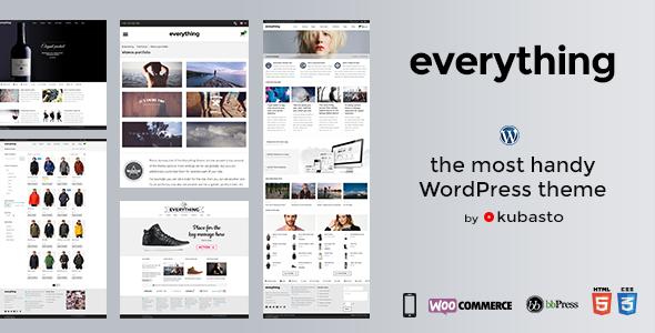 Everything wordpress business theme