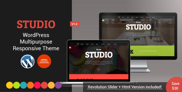 Studio wordpress business theme