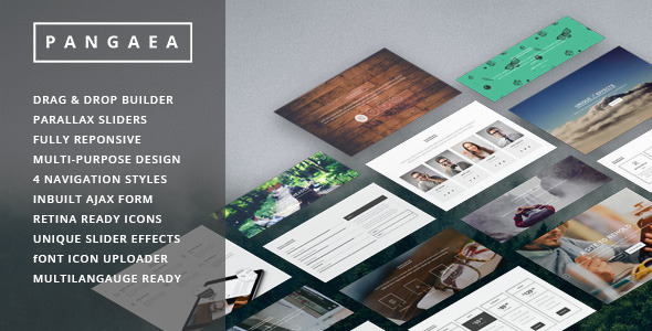 Pangaea wordpress gallery theme