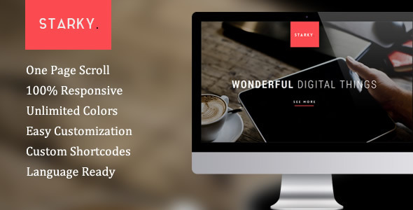 Starky wordpress gallery theme