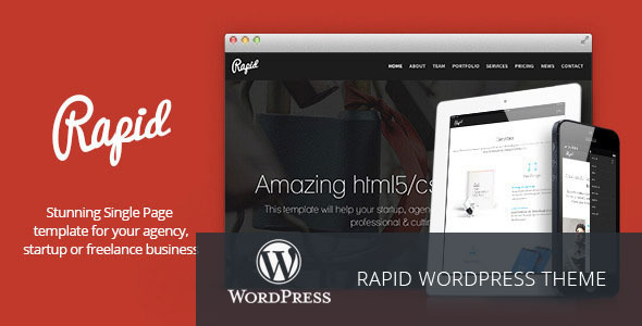 Rapid wordpress gallery theme