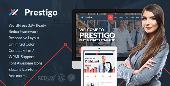 Prestigo wordpress gallery theme