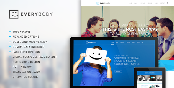 Everybody wordpress gallery theme
