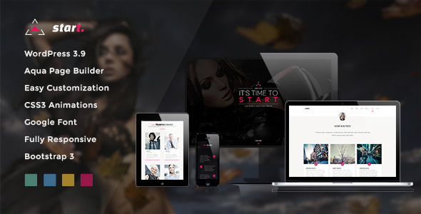 Start wordpress gallery theme