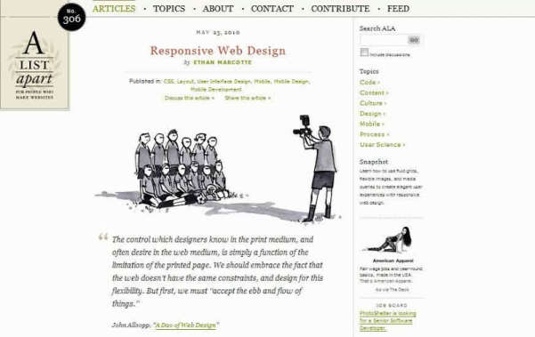 Responsive web design tutorial