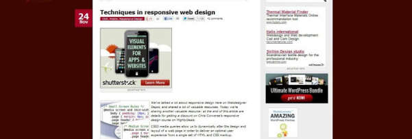 Techniques in responsive web design tutorial