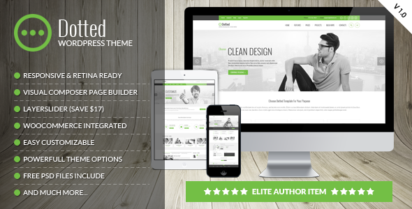 dotted corporate multipurpose wordpress theme